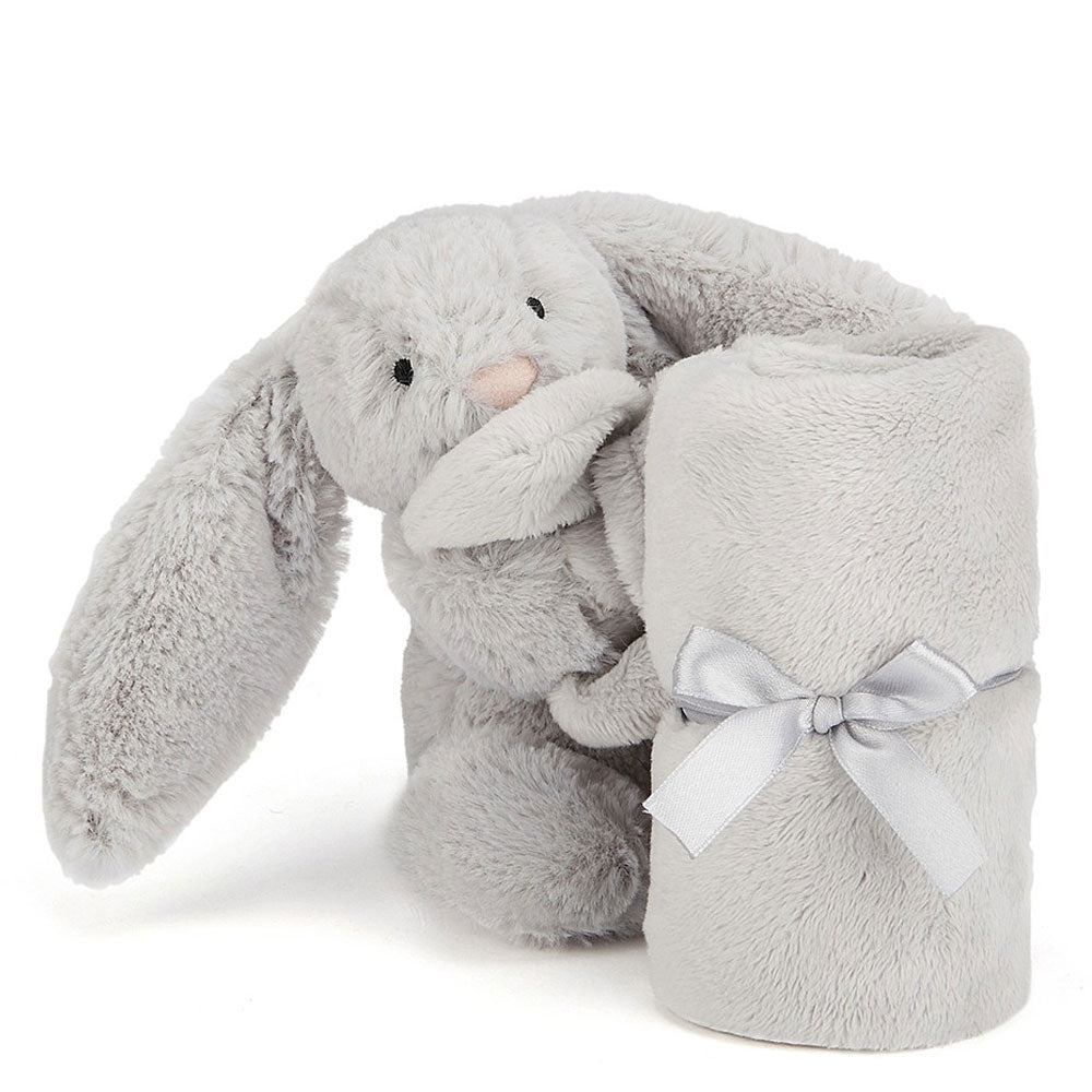 Jellycat | Bashful Bunny - Silver Soother