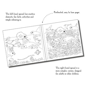 Kuwi's Creative Colouring Book - For Big and Small People
