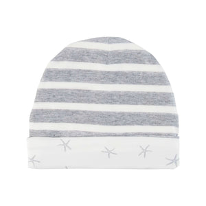 Lil Zippers | Reversible Beanie - Grey