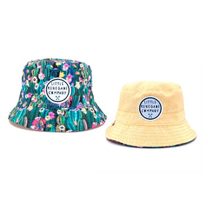 Little Renegade | Oasis Reversible Bucket Hat