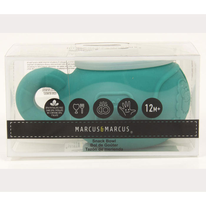 Marcus & Marcus | Silicone Snack Bowl - Green Elephant