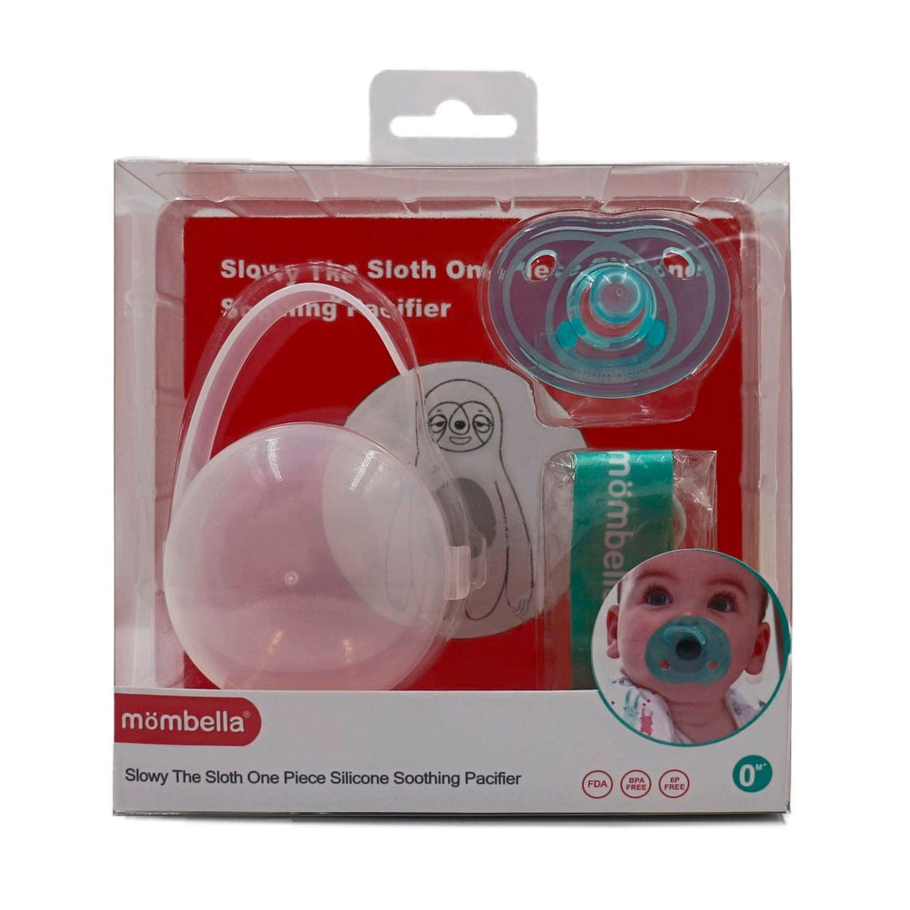 Mombella | Sloth Pacifier with Clip