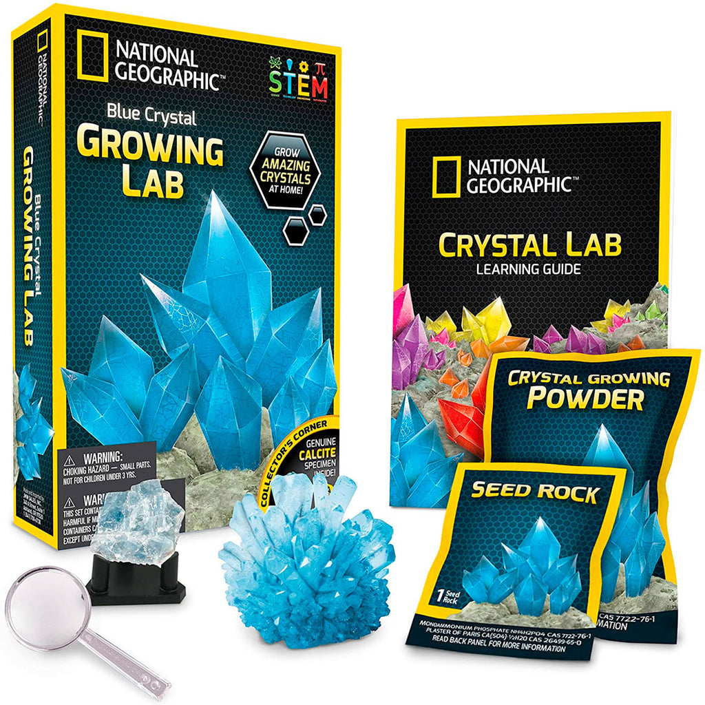 National Geographic | Blue Crystal Growing Lab