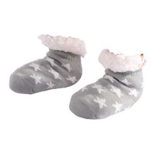 Nuzzles | Sherpa Socks - Toddler Star