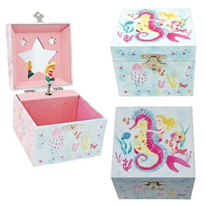 Pink Poppy | Musical Jewellery Box Small - Wish Upon A Starfish