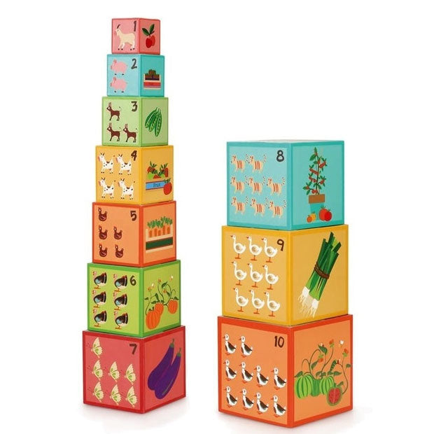 Scratch Europe | Stacking Tower - Farm Animals
