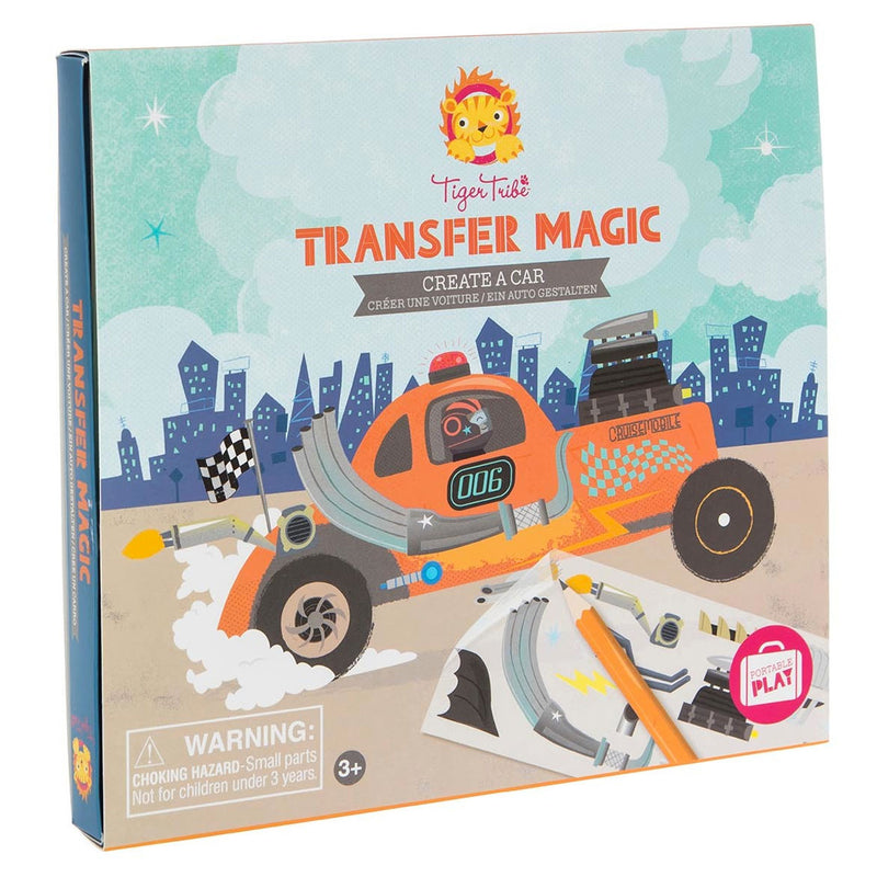Tiger Tribe | Transfer Magic - Create A Car