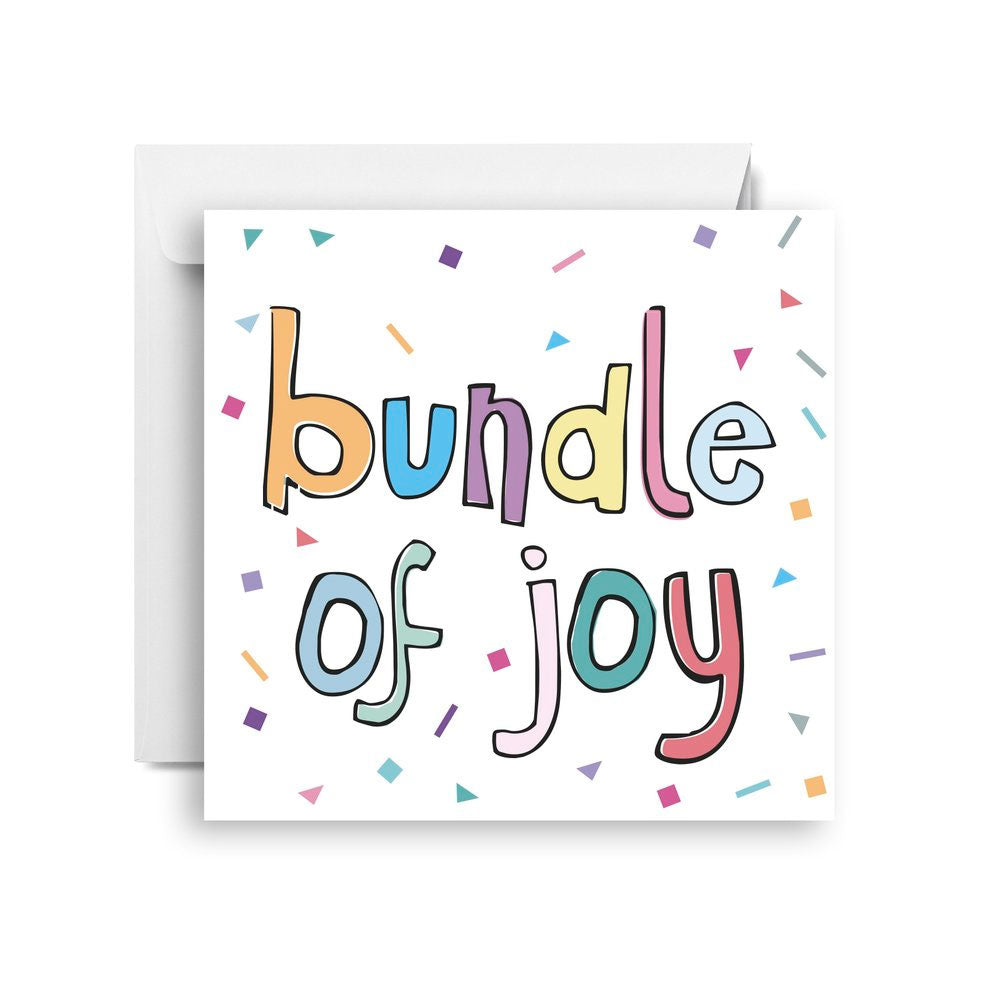 Birthday Card | Bundle of Joy - Confetti