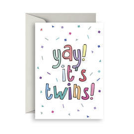 Birthday Card | Yay Its Twins