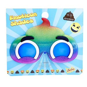 Sun-Staches | Emoticon Unicorn Poo