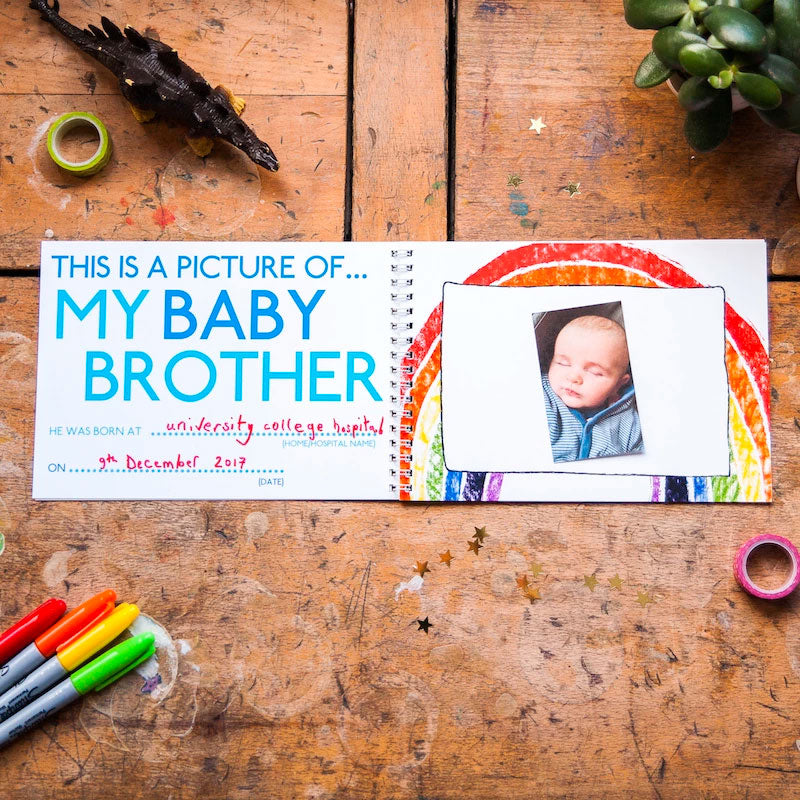 Mini Memory Book | This Is My Baby Brother