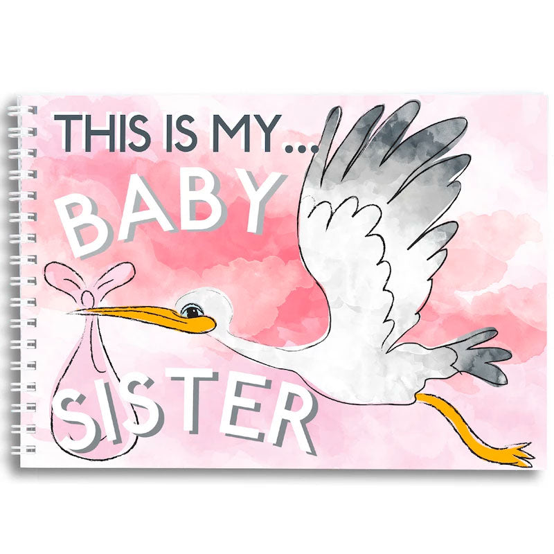 Mini Memory Book | This Is My Baby Sister