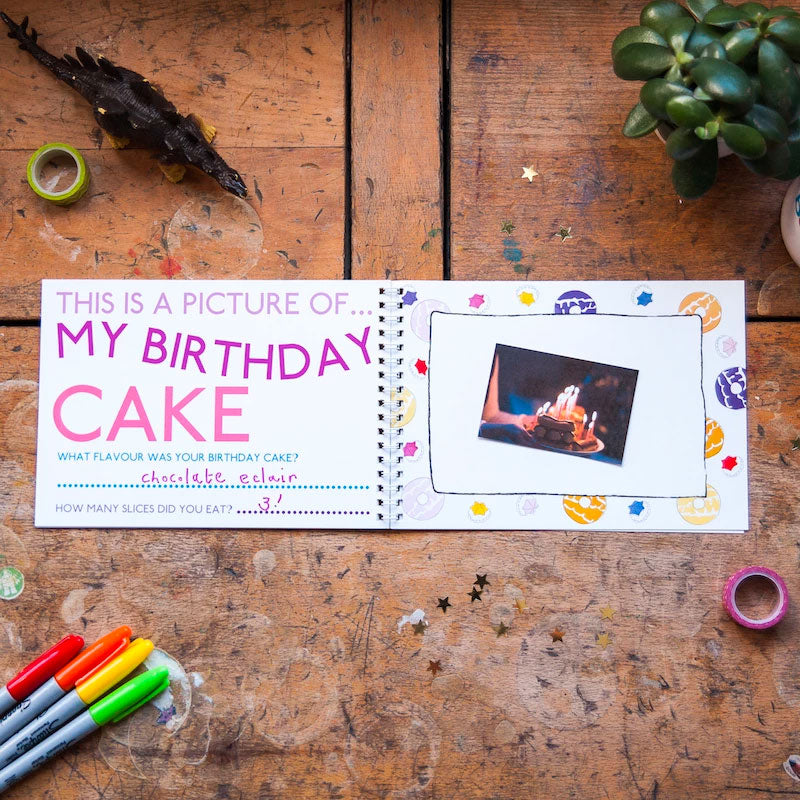 Mini Memory Book | This Is My Birthday