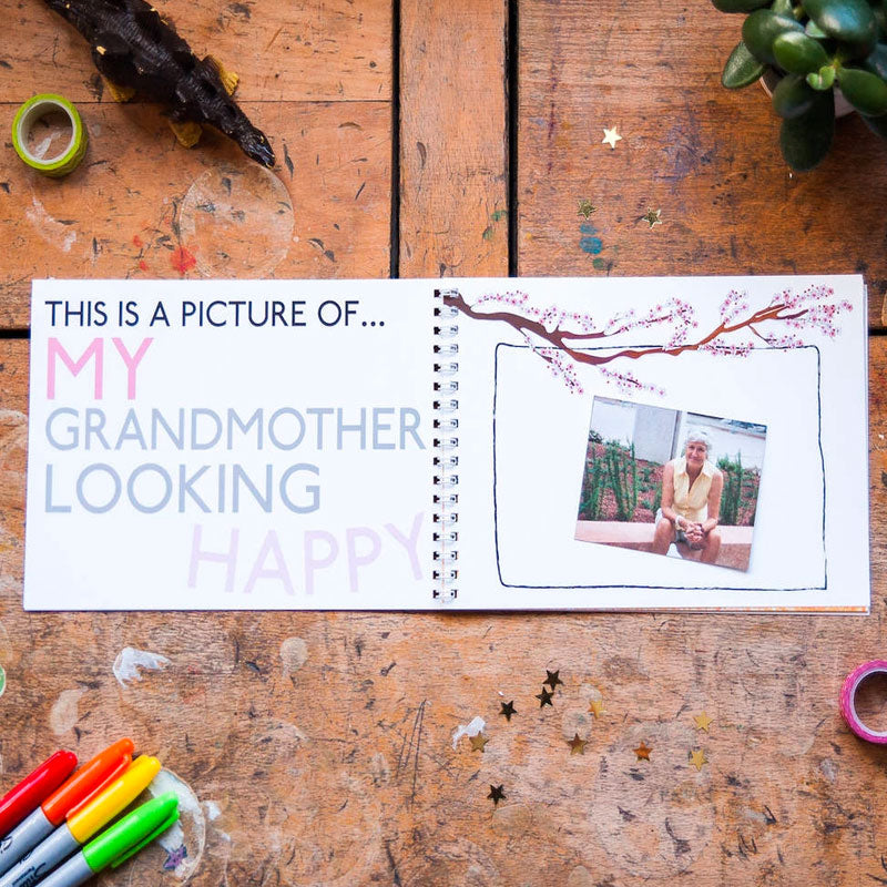 Mini Memory Book | This Is My Grandmother