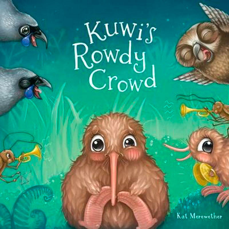 Kuwi's Rowdy Crowd - Includes Soft Toy