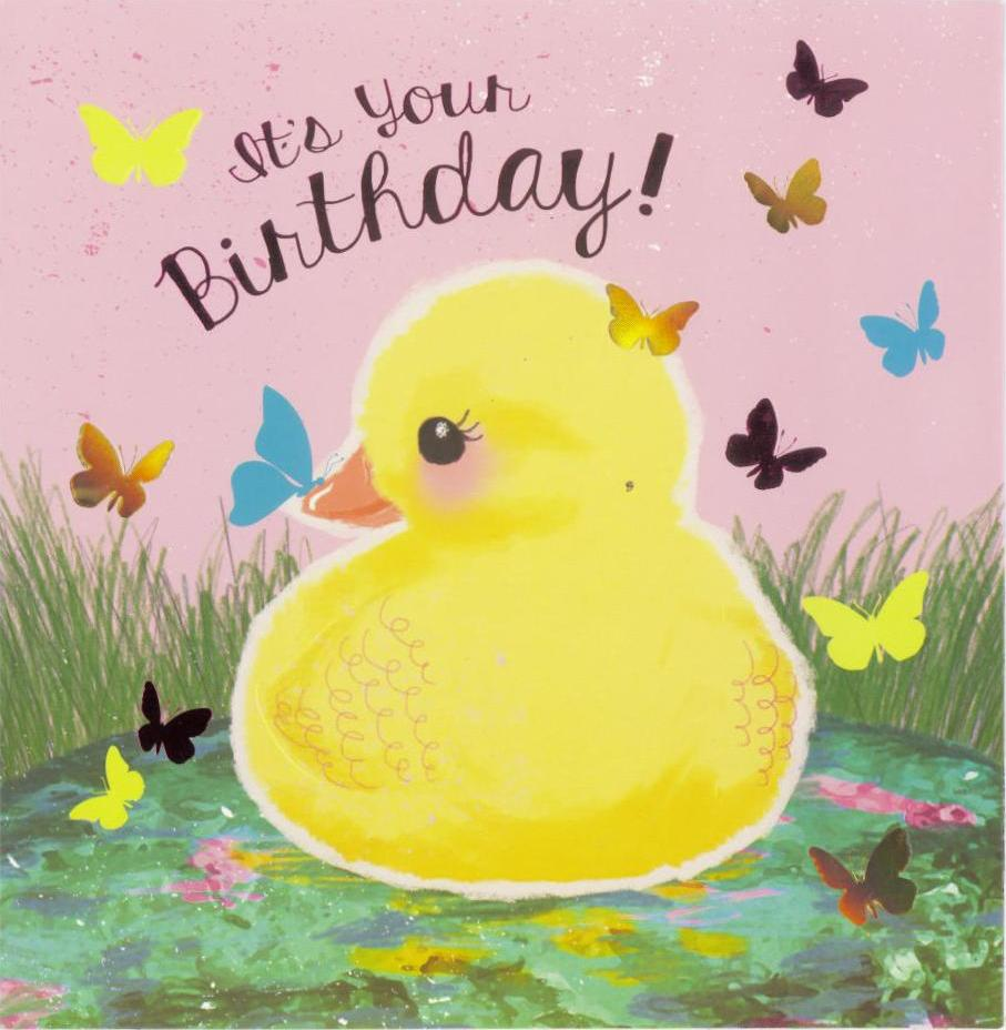 Birthday Card | Toot Sweet Duck