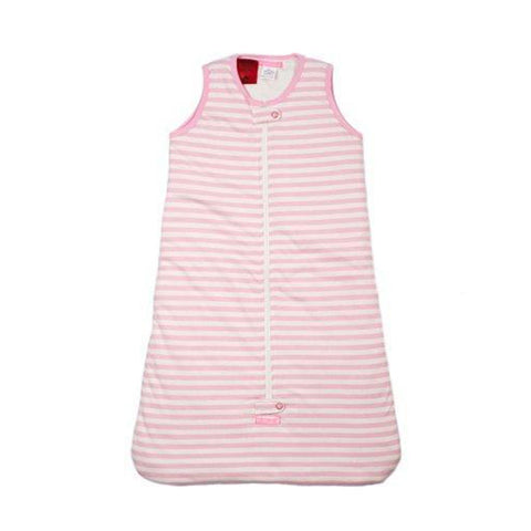 Uh-Oh | Baby Sleeping Bag 0.5 Tog Pink Stripe