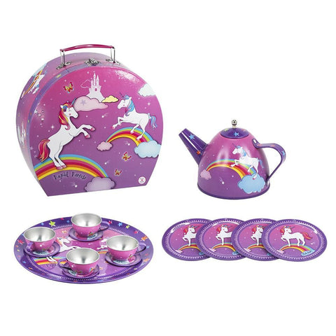 Pink Poppy | Unicorn Tea Set