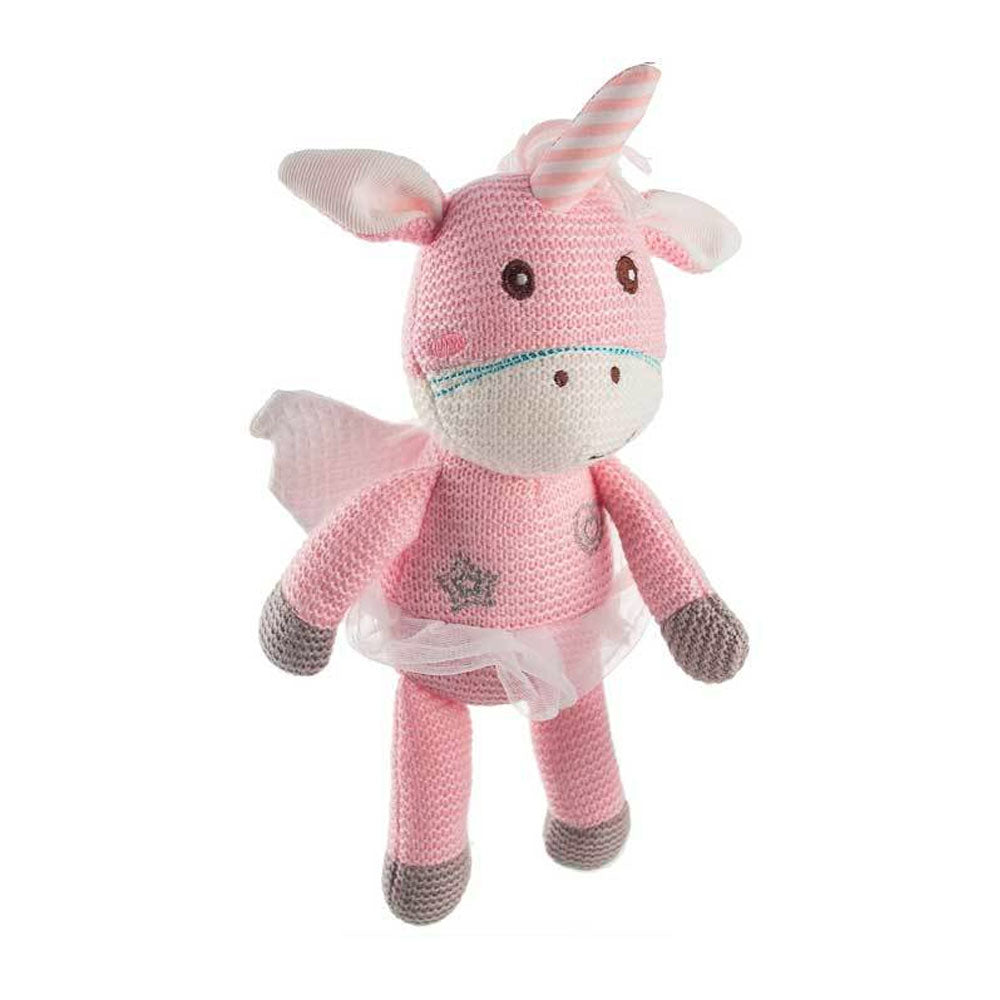 Baby Boo | Knitted Rattle Unicorn or Lion
