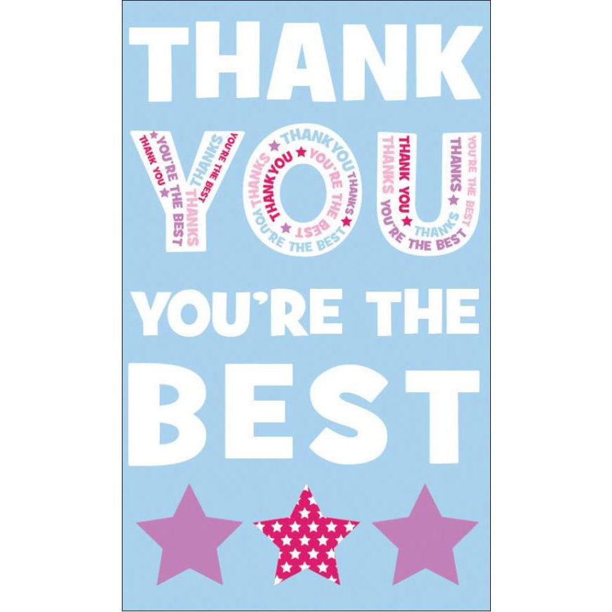 Thank You Card | You're The Best