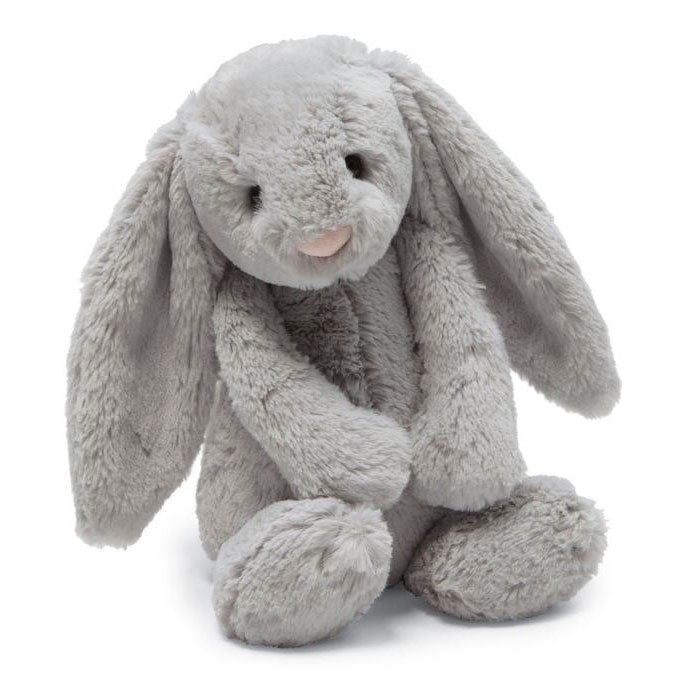 Jellycat | Bashful - Silver Bunny Medium