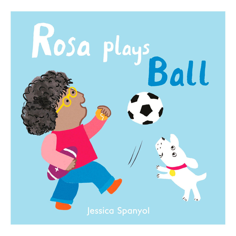 Rosa plays Ball
