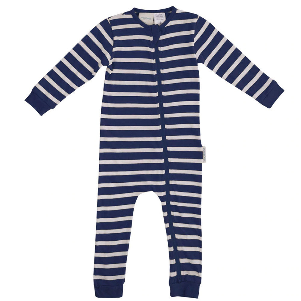 Woolbabe | Pyjama Suit - Midnight