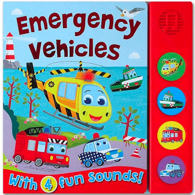 Sound Book - Emergency Vehicles