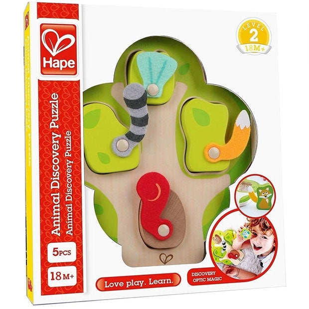 Hape | Who's In The Tree Puzzle