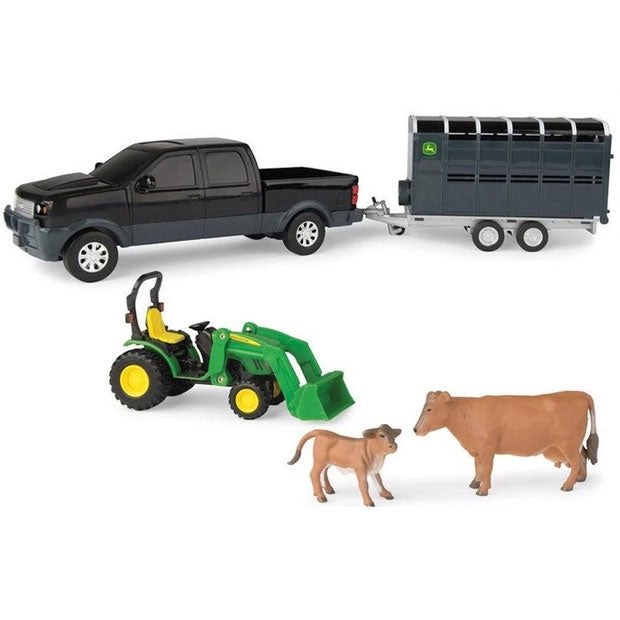 John Deere | Animal Hauling Set - Cows
