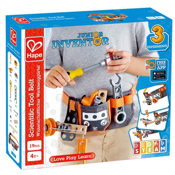 Hape | Junior Inventor - Scientific Tool Belt