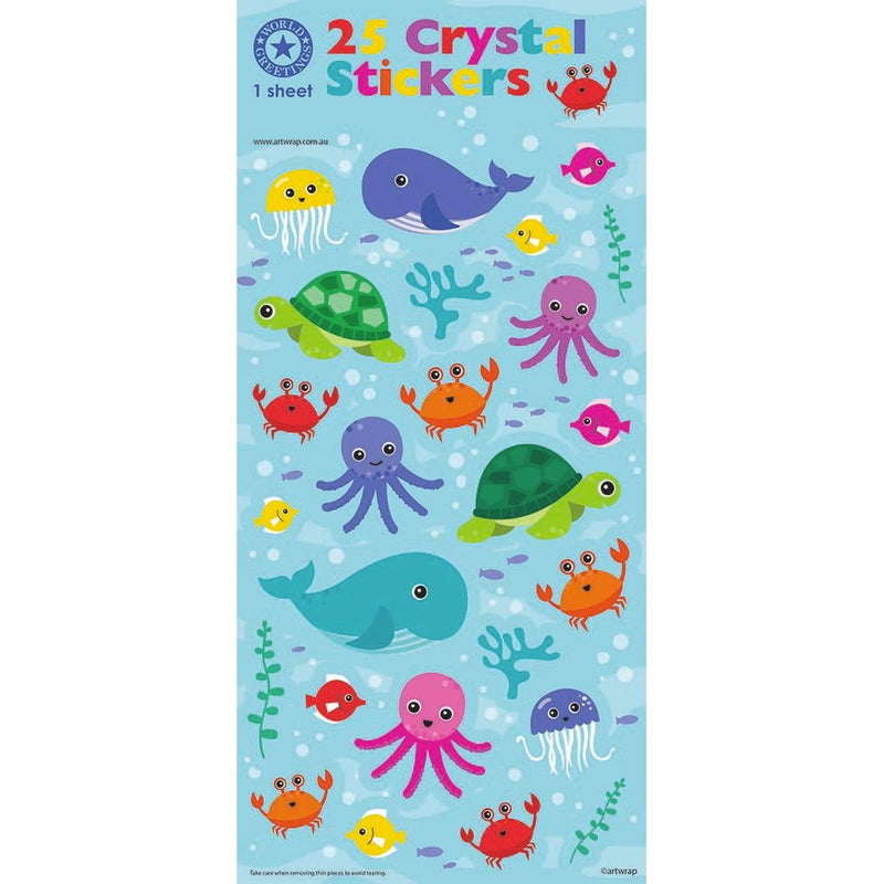 Sticker Sheet | Ocean Friends Stickers