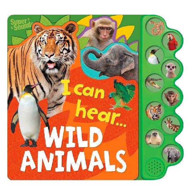 Sound Book - Wild Animals
