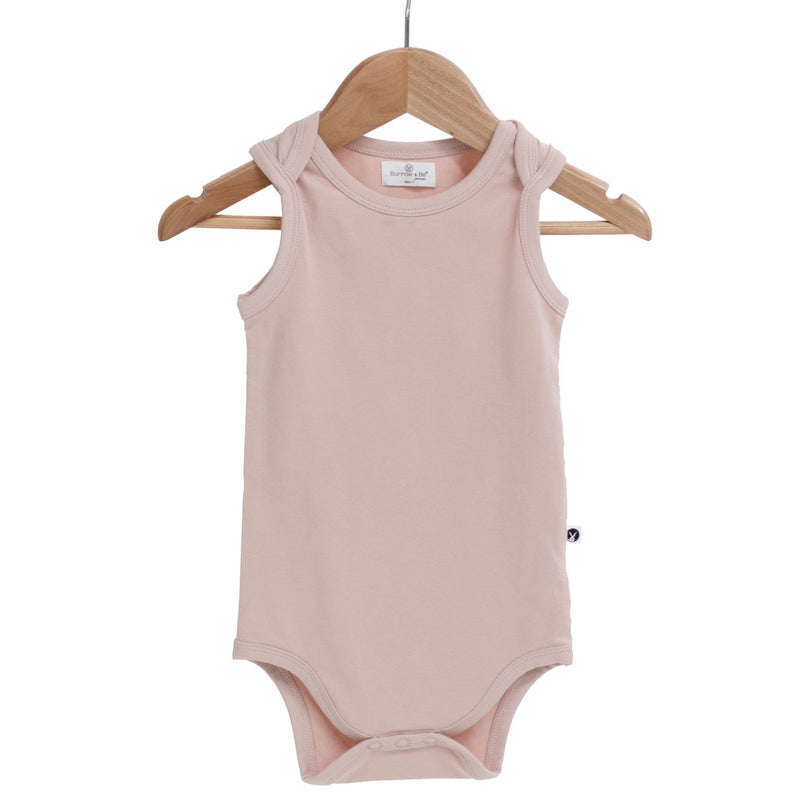 Burrow & Be | Singlet Onesie | Dusty Rose