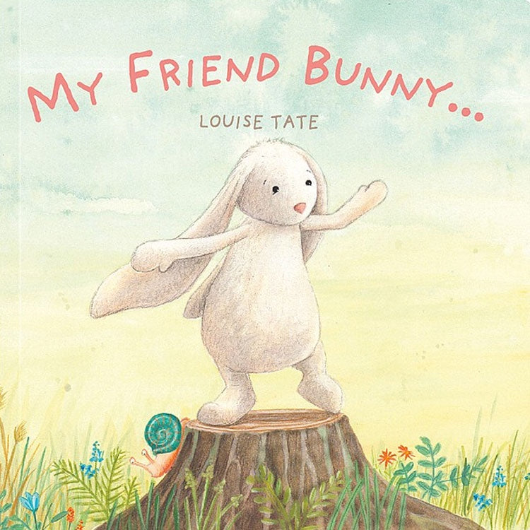 Jellycat | My Friend Bunny - Board Book