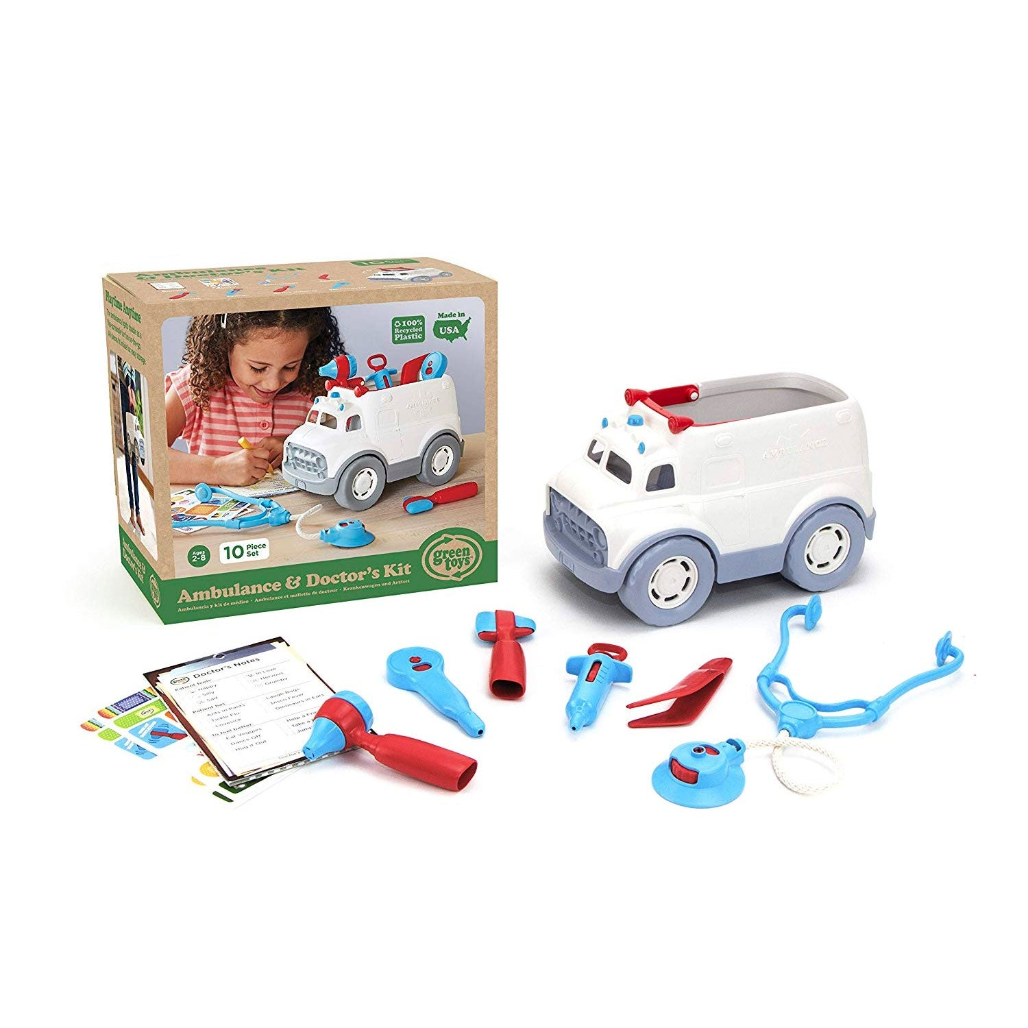 Green Toys | Ambulance & Doctor's Kit