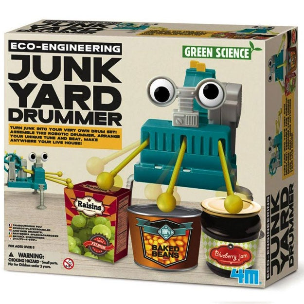 Green Science | Junk Yard Drummer