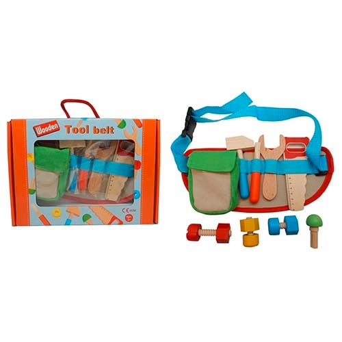 Five Star | 11 Piece Wooden Tool Belt Set