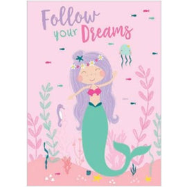 Birthday Cards | Follow Your Dreams - Mermaid