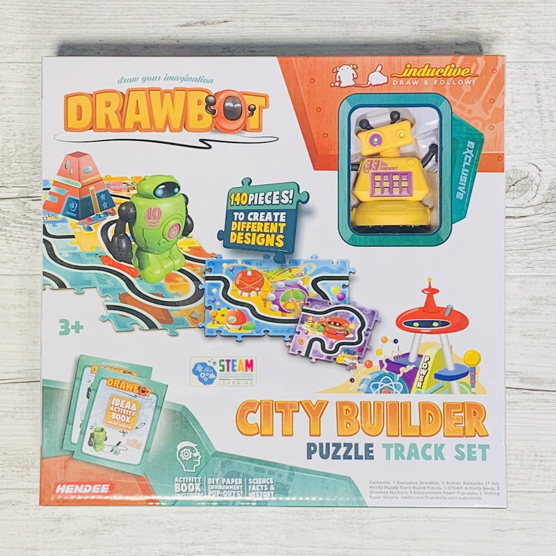 Drawbot | City Builder Puzzle Track Set
