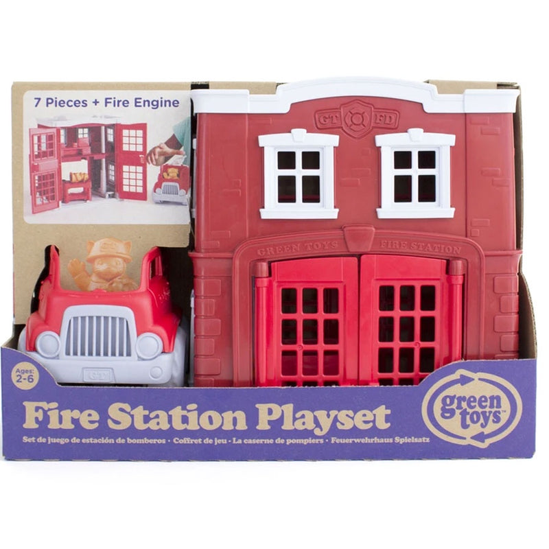 Green Toys | Fire Station Playset