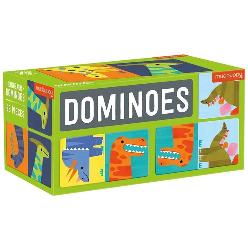 Mudpuppy | Dominoes - Dinosaur