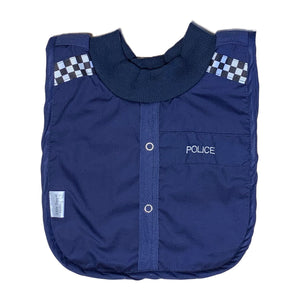 Little Poppet | Bib - Police