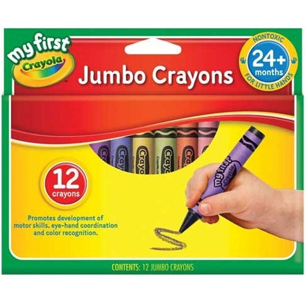 Crayola | My First Jumbo Crayons - 12 Pack
