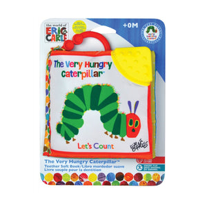 World Of Eric Carle | Hungry Caterpillar 'Let's Count' Clip On Fabric Book