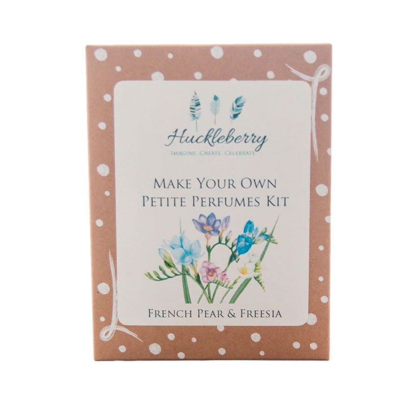 Huckleberry | Make Your Own Perfumes Kit - French Pear and Freesia