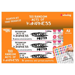 Scratch Poster | 100 Random Acts of Kindness