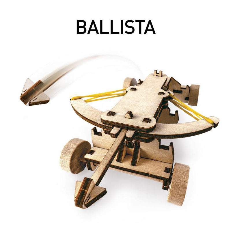 National Geographic | Da Vinci's Ballista