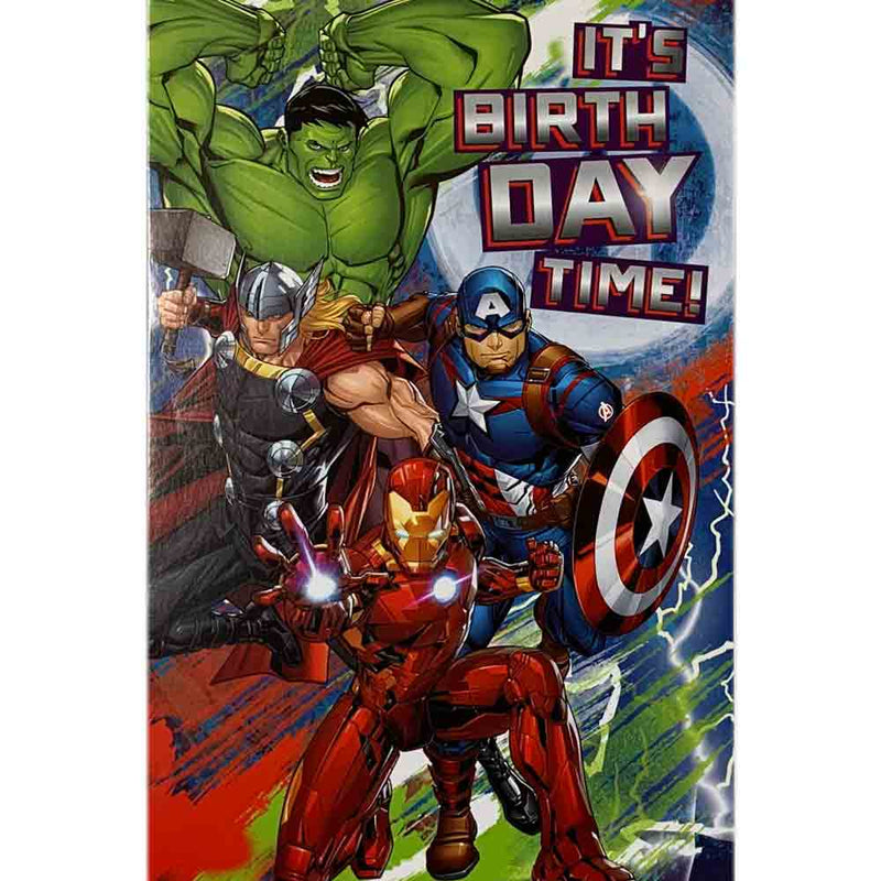 Birthday Cards | Avengers Birthday Time