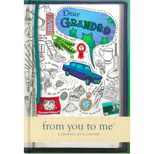 A Journal Of A Lifetime | From You To Me - Dear Grandad